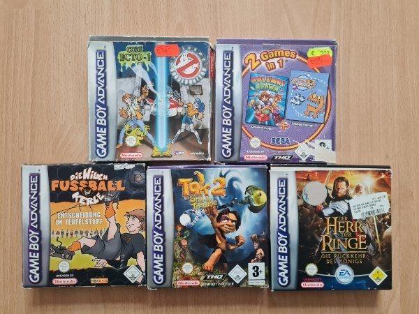 GameBoy Advance Spiele Game Boy