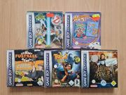 GameBoy Advance Spiele Game Boy