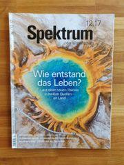 12 Hefte Spektrum der Wissenschaft