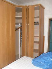 Komplette Anbauschlafzimmer Wand