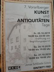 7 Vorarlberger KUNST und ANTIQUITATEN