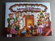 Adventskalender - 24 Büchlein - Bärenfamilie