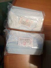 100 Stück 2x50 Mundschutzmasken