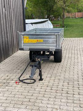 Traktoren, Landwirtschaftliche Fahrzeuge - kippanhänger Kipper für KleinTraktoren extrem
