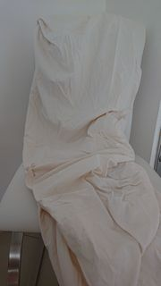 Spannbettlaken - creme - 90-100 x 200