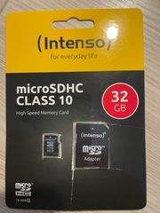 Intenso 32 GB SD-Micro Karte