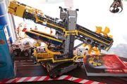 LEGO® Radbagger 42055 gebraucht nur