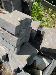 100 Knochensteine - Doppel T Pflastersteine