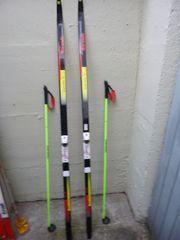 Langlauf Skiset LL Stöcke Trak