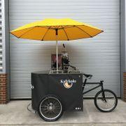 Imbisswagen Kaffee Fahrrad mobiles Café
