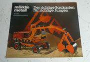 Märklin Metall 1980 Katalog Prospekt