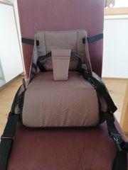 Kinderstuhl Sitzerhöhung Wickeltasche