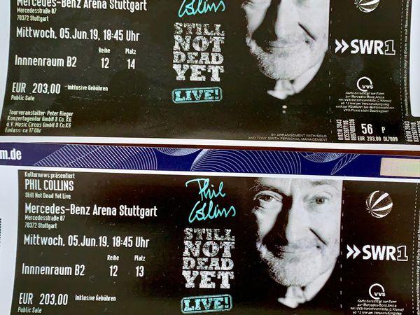 Phil Collins Konzert Stuttgart 5