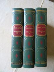 Karl May Winnetou Bücher 3-tlg