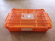 NEU - Geflügel-Transportkiste für Tauben Wachteln
