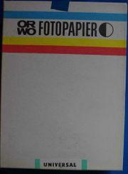 ORWO Fotopapier BS 117 100
