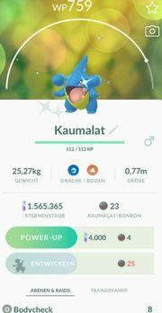 Pokemon Go Shiny Kaumalat