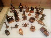 Alte Sammlung Dekorationsfiguren