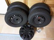 Winterkompletträder Dunlop 195 65 R15