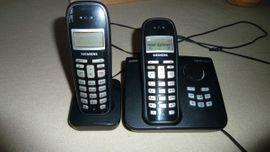 Schnurlose Telefone - Siemens Gigaset AC255 Duo mit