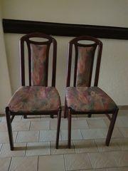 2 Esszimmer Wohnzimmer Stühle