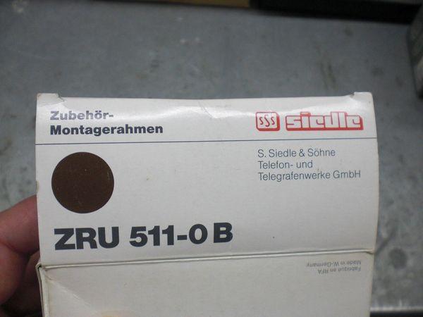 Siedle Montagerahmen für UP ZRU