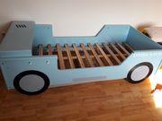 Blaues Autobett