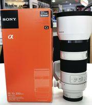 Sony Alpha SEL70200G 70-200 mm