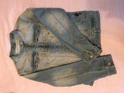 Mädchen Jeans Jacke Gr 140
