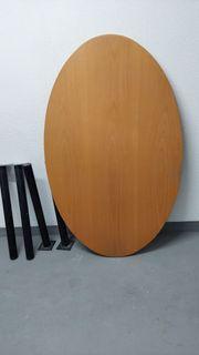 Multiplex Tischplatte oval zu Verkaufen
