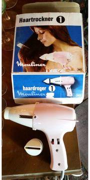 Moulinex Haartrockner Retro Vintage original
