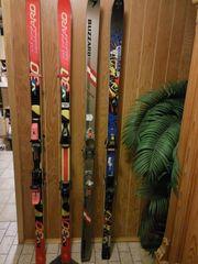 Alpin-Ski mit Bindung gut erhalten
