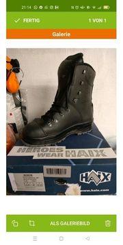schnittschutz Stiefel Haix gr 46