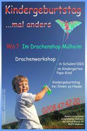 Kindergeburtstag Mülheim Essen Nrw Drachenworkshop