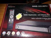 Neue Multimedia Internetbox