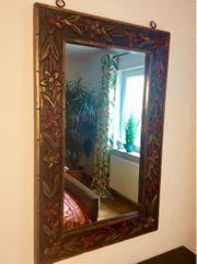 Spiegel antik spanisch geschnitzt