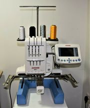 JANOME MB4 Kommerzielle 4-Nadel-Stickmaschine DIGITIZER