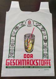 DDR Plastiktüte DDR-Geschmacksstoffe gut erhalten