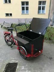 Elektrisches Lastenfahrrad Cargobike