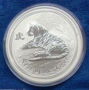 Silbermünze Lunar 2 Tiger 1
