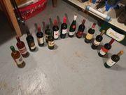 14 Weinflaschen