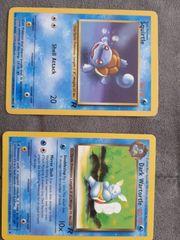 Pokemon Karten Squirtle 68 82