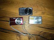 Digitalkamera Samsung Casio 2 Stück