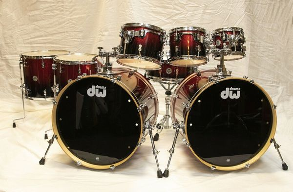 PDP by DW Doppelbassdrum Drumset