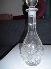 Kristallglas Schnaps Karaffe