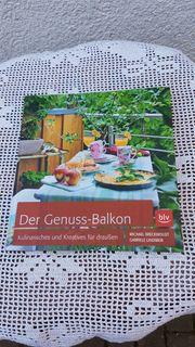 Neuwertiges modernes Buch Der Genuss-Balkon
