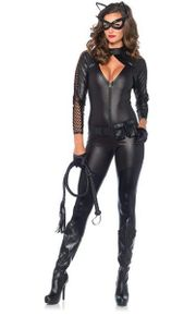Sexy Catwoman Cosplay Catsuit Kostüm