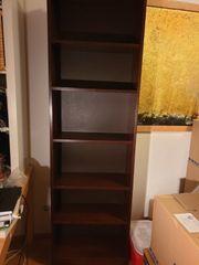 Regal Bücherregal braun
