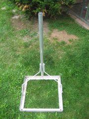 Balkonständer Flachdachständer Flachdachalterung 50x50cm Mast
