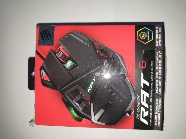 RAT 6 Laser Gaming-Maus